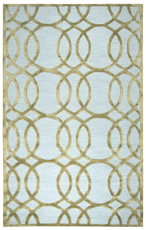 circular trellis wool area rug circular trellis wool area rug in ivory gold 8 x 10