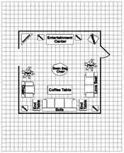 Graph Paper For Floor Plans Arrange Your Furniture