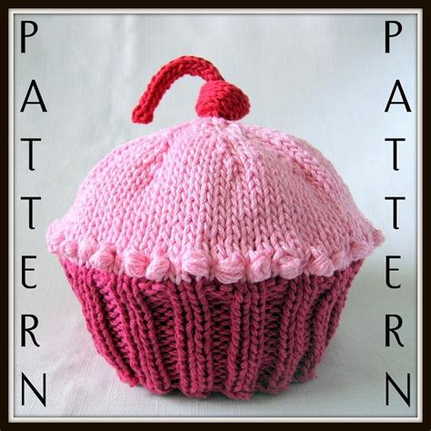 cupcake knitted hat pattern free cupcake baby hat by bostonbeanies craftsy