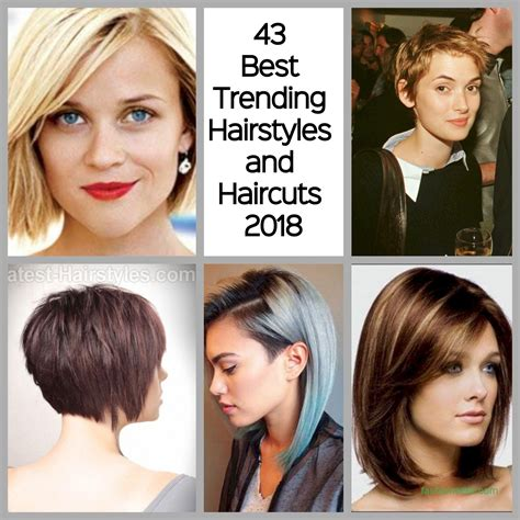 In Style Hairstyles by 43 Best Trending Hairstyles And Haircuts 2018 Fashionetter