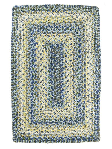 outdoor braided rugs aegean sea braided indoor outdoor rug cottage home 174