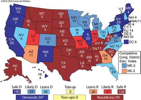 donald trump electoral votes uva electoral map shows hillary clinton winning the