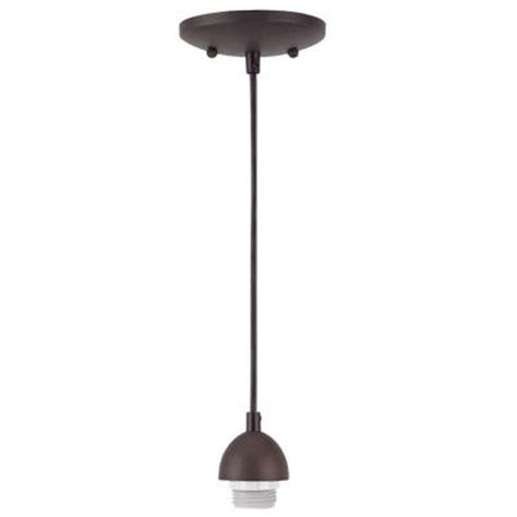 Adjustable Mini Pendant Lights 1 Light Rubbed Bronze Adjustable Mini Pendant 7028500 The Home Depot