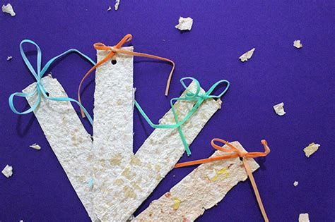 Handmade Paper Uses - throwback post day gift wrapping scrubs keychains more