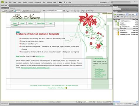dreamweaver tutorial video free download adobe dreamweaver template free download outletsoftwares