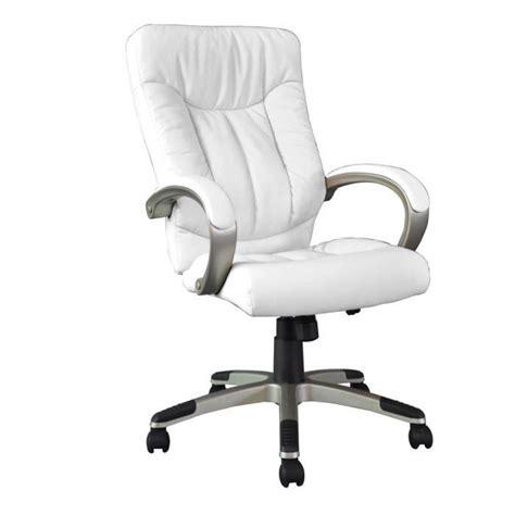 fauteuil de bureau blanc manager fauteuil de bureau blanc grand confort achat vente chaise de bureau blanc cdiscount