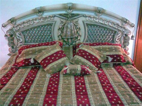 Handmade Work At Home - buy bed cover handmade embroidered sequence
