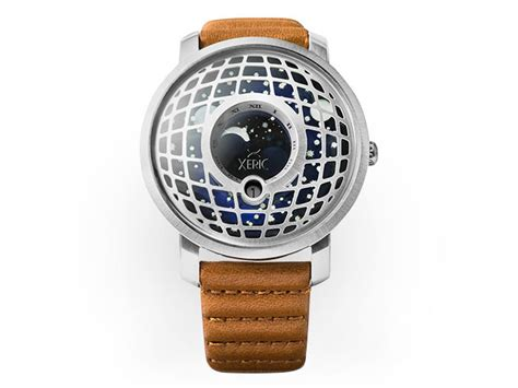 Loiste Ii Self Winding Cog With Moon Phase by Xeric Trappist 1 Moonphase Stacksocial