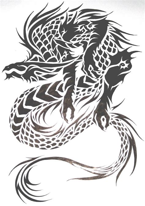 tribal tattoo dragon designs tattoos designs ideas and meaning tattoos for you