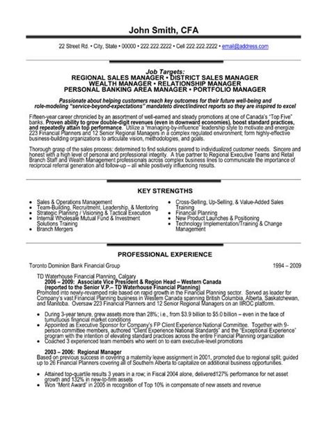 sales manager resume general manager resume