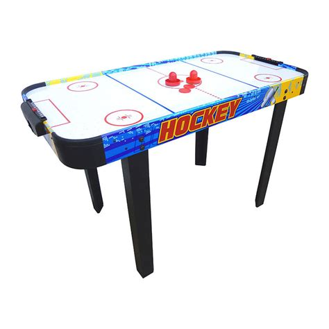 mightymast 4ft whirlwind air hockey table game