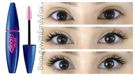 Mascara Maybelline Di Malaysia impression maybelline the rocket mascara review 2014