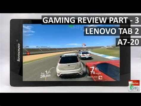 On Of Lenovo A7 20 Volume lenovo tab 2 a7 20 gaming review performance part 3