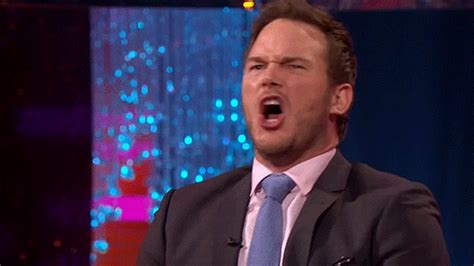 Middle Finger Meme Gif - chris pratt middle finger gif find share on giphy
