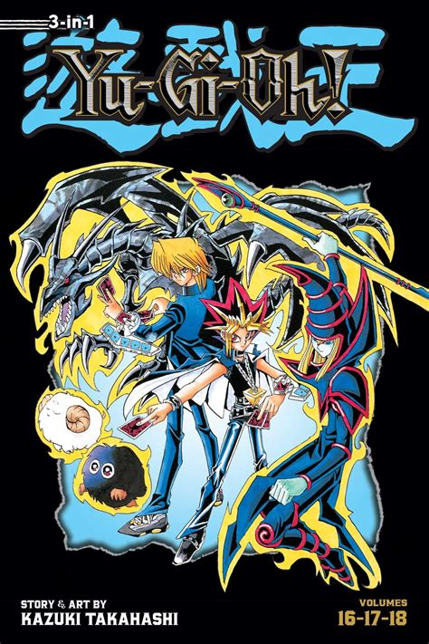 Komikmanga Yugioh Vol 1 2 6 yu gi oh 3 in 1 edition vol 6 book by kazuki takahashi official publisher page simon
