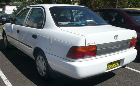 Toyota Corolla Model 1994 1994 Toyota Corolla Vin 1nxae00b2rz224864