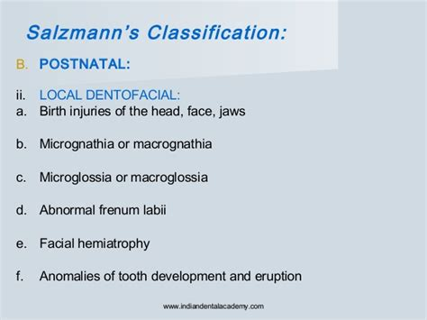 pattern classification for finding facial growth abnormalities etiology of malocclusion 1 certified fixed orthodontic