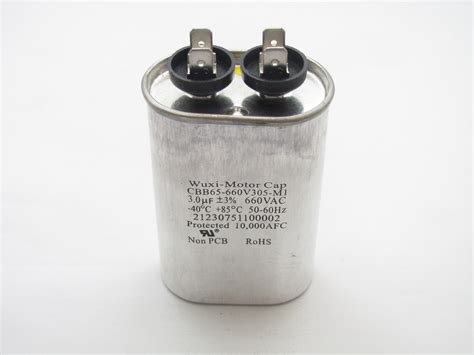 cbb65 660v305 m1 capacitor industries