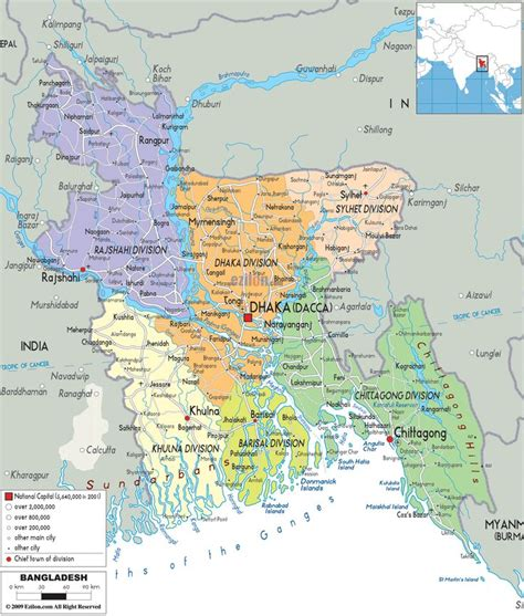 5 themes of geography bangladesh map of bangladesh google search maps pinterest