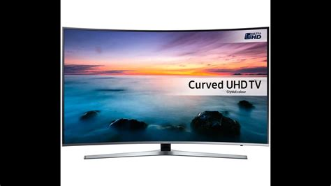Smart Tv Curved Samsung samsung 49 ku6100 6 series curved uhd 4k hdr ready smart