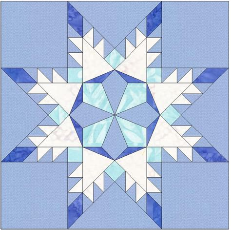 snowflake pattern block templates snowflake star template 6 inch block by humburgcreation