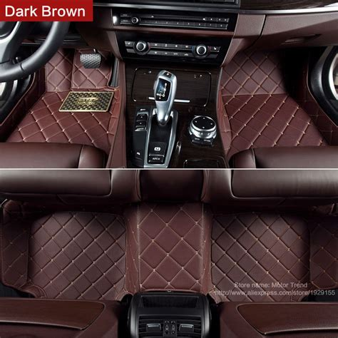 Custom Fit Truck Floor Mats by Aliexpress Buy Custom Fit Car Floor Mats For Bmw 5