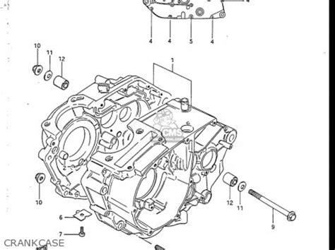 Suzuki Lt50 Service Manual Suzuki Atv 1984 1990 Lt 50 Service Repair Manual Parts