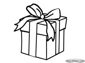present color sheet cool present coloring page