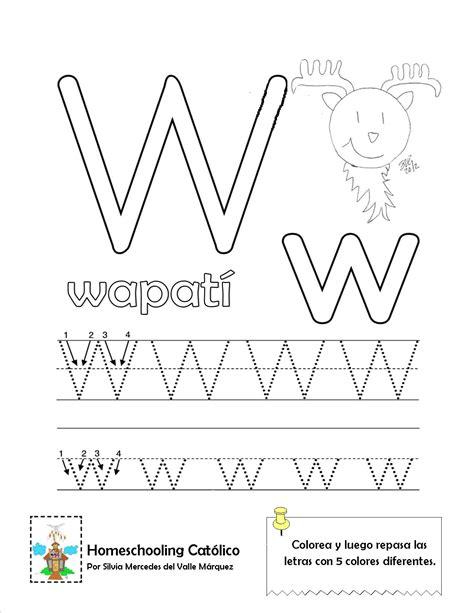 imagenes que empiecen con la letra w en español conozco la letra w homeschooling cat 243 lico