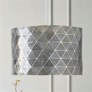 West Elm Chandelier Capiz Faceted Capiz Drum Pendant West Elm