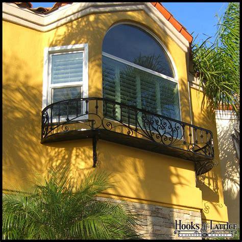 wrought iron juliet balcony railings custom hooks