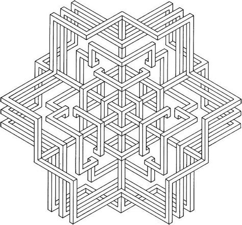 printable geometric coloring pages images of printable geometric coloring pages