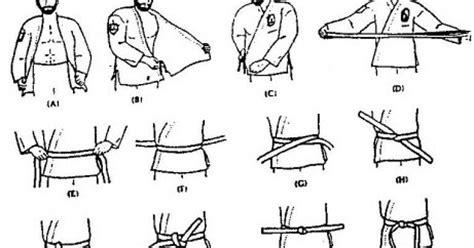 Gambar Cara Pakai Baju Karate