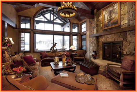 living room the charming rustic living room ideas
