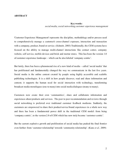 research paper about effects of social networking