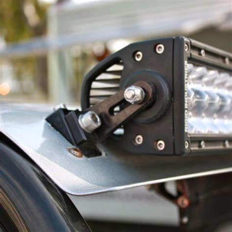 led light bar mounts axia alloys billet led light bar mount rigid industries