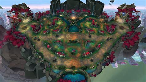 lol mapa nexus blitz tematico de ionia  encontrado nos