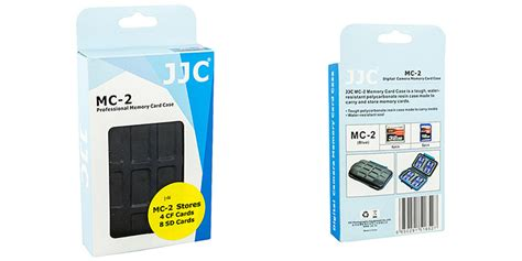 Diskon Jjc Mc 2 Memory Card jjc mc 2 rubber sealed water resistant memory card for 4 cf cards 8 sd cards 11street
