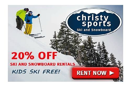 christy sports coupon code rental 2018