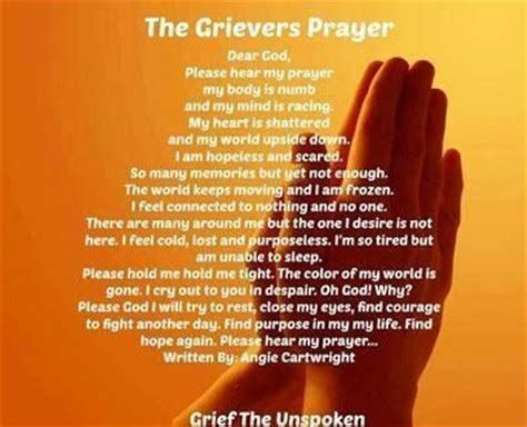 prayers to comfort the grieving prayer grief the saddest journey pinterest