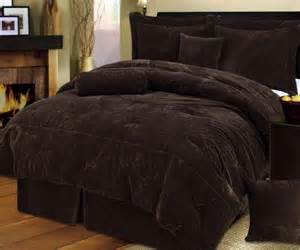 chocolate brown comforter set beds pinterest