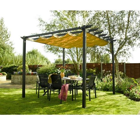 argos patio awnings buy rowlinson latina aluminium frame canopy 9 x 9ft at