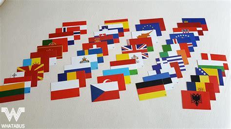 Aufkleber Länderflaggen by Alle Flaggen Europa Als Aufkleber 53 St 252 Ck 8 5 X 5