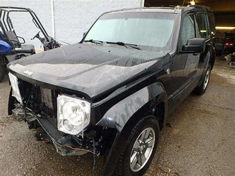 wrecked jeep liberty 2008 jeep liberty sport sport utility 4 door 3 7l salvage