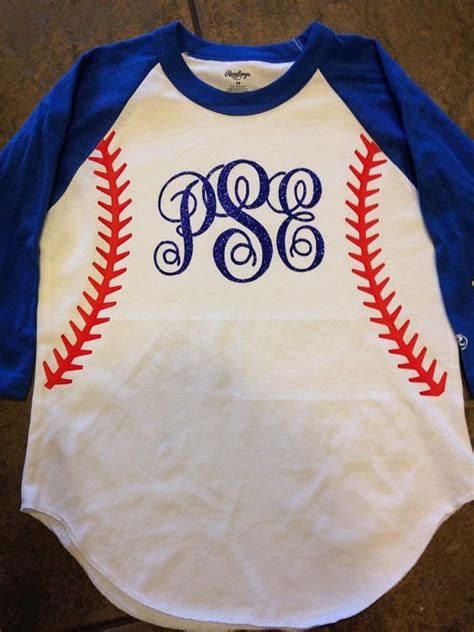Raglan My Choice baseball monogrammed glitter raglan 3 4 by
