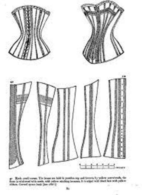 corset pattern generator victorian victorian corset pattern google search