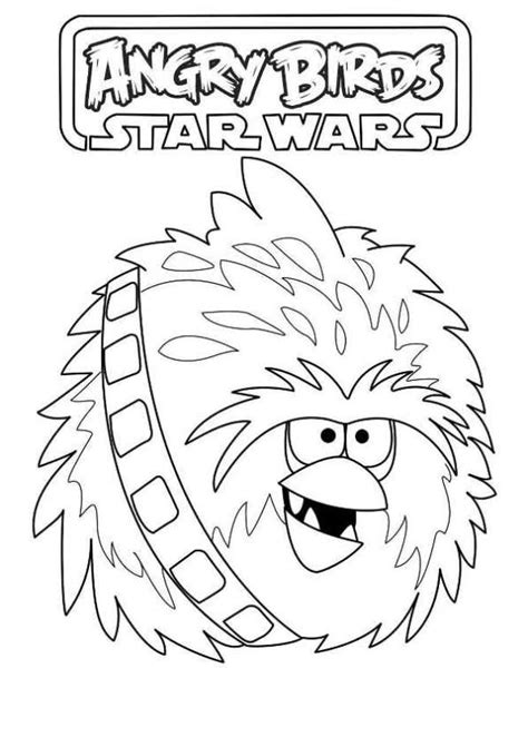 coloring page angry birds star wars kids n fun com coloring page angry birds star wars chewbacca