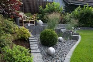 Gartengestaltungsideen Mit Kies Moderne Vorg 228 Rten Mit Kies Kunstrasen Garten
