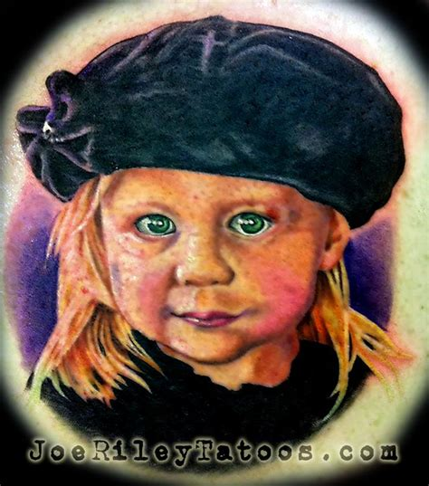 best tattoo artists near me baby portrait by joe tattoonow