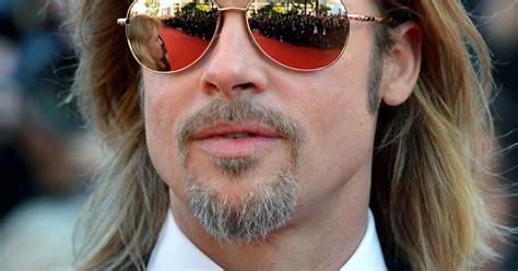 brad pitt sunglasses id celebrity sunglasses brad pitt wears 1 250 sunglasses to cannes us weekly